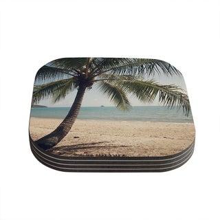 Kess InHouse Catherine McDonald 'Tropic of Capricorn' Ocean Photography Coasters (Set of 4)