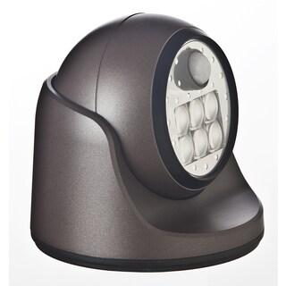 Light It Bronze Plastic Wireless Porch Light Motion-Sensing LED 6 volts