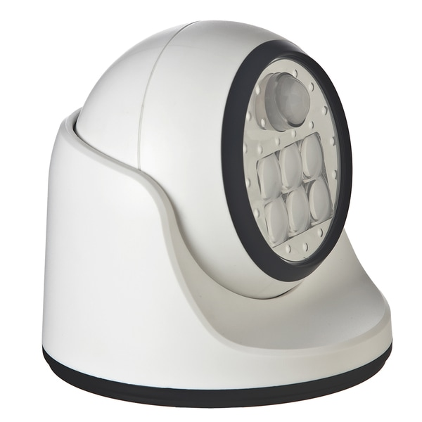 Light It White Metal Porch Light Motion-Sensing LED 6 volts