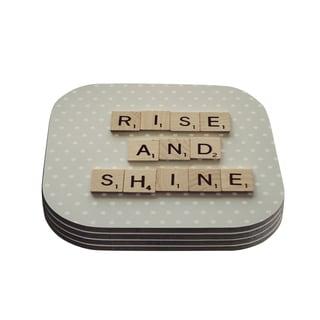 Kess InHouse Cristina Mitchell 'Rise and Shine' Coasters (Set of 4)