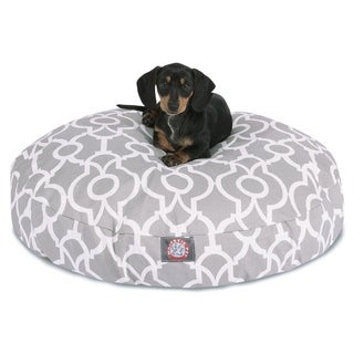 Athens Outdoor Indoor Round Dog Bed by Majestic Pet