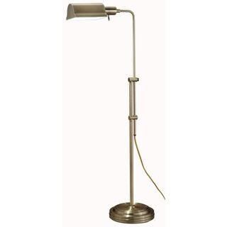 Normande Lighting JS3-729 Antique Brass Floor Lamp