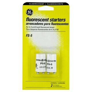 GE Lighting 64821 2 Pack 4, 6 & 8 Watt Fluorescent Starters