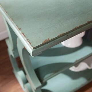 Harper Blvd Brawn Scroll Sofa/ Console Table