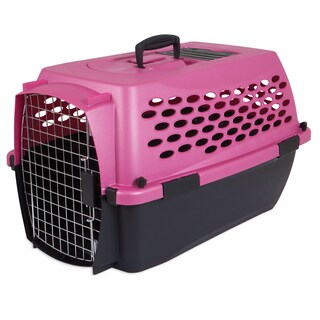 Petmate Fashion VariI Kennel (Option: Green/Brown)