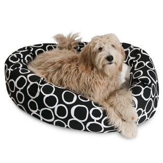 Fusion Sherpa Bagel Dog Bed by Majestic Pet