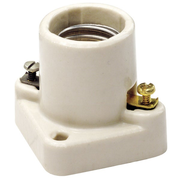 Leviton 002-19062 Lampholder Porcelain Cleat Type