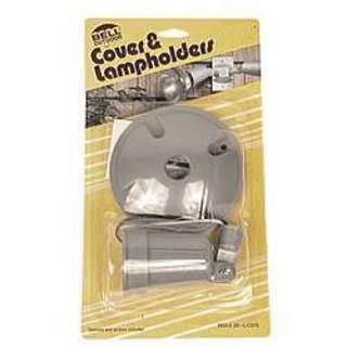 Bell Outdoor 5624-5 4-inch Round Single Lampholder and Cover