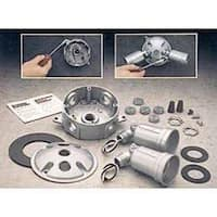 "Bell Outdoor 5829-5 4"" Gray Round Light Kits"
