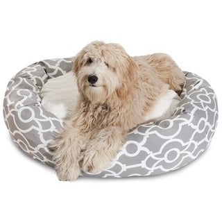 Athens Sherpa Bagel Dog Bed by Majestic Pet