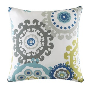 Madison Park Carmel Printed Medallion 3M Scotchgard Indoor/ Outdoor 20-inch Pillow