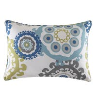 Madison Park Carmel Printed Medallion 3M Scotchgard Outdoor Pillow 3-Color Option