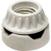 Leviton 001-9880 Lampholder Porcelain Cleat Type