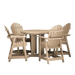 Hamilton 5-piece Round Counter-height Dining Set