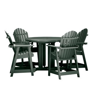 Hamilton 5-piece Round Counter-height Dining Set (2 options available)