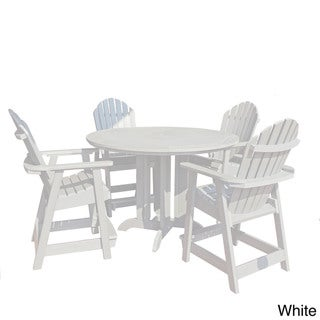 Highwood Eco-friendly Synthetic Wood Hamilton 5-piece Round Counter-height Dining Set