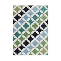 Alliyah Geometric Apsamikku Wool Handmade Floor Rug (5' x 8') - 5' x 8'