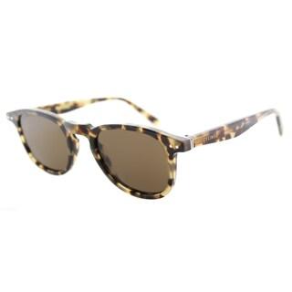 Celine CL 41400 3Y7 Honey Havana Plastic Square Brown Lens Sunglasses