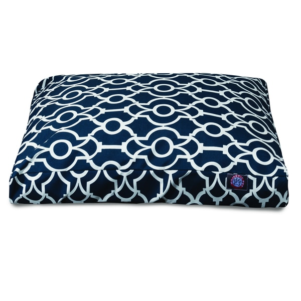 Majestic Pet Athens Outdoor Indoor Rectangle Large Extra Dog Bed With Removable Washable