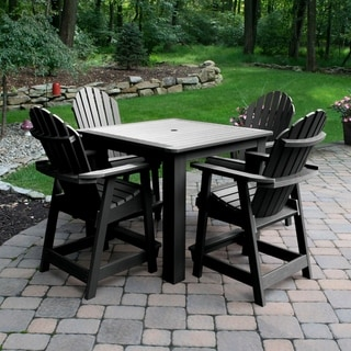 Hamilton 5-piece Square Counter-height Dining Set