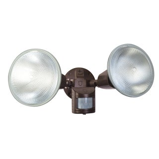 Designers Edge L5999BR Bronze Motion Floodlight