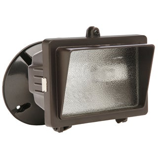 Designers Edge L56BR 150 Watt Bronze Mini Halogen Flood Light