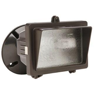 Designers Edge L56BR 150 Watt Bronze Mini Halogen Flood Light