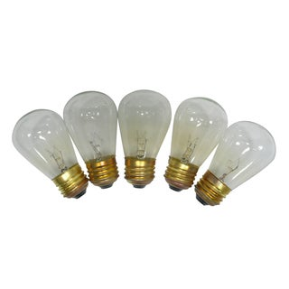Asian Import Store Distribution YES14BULBS 11 Watt Clear Replacement Bulbs (Pack of 25)