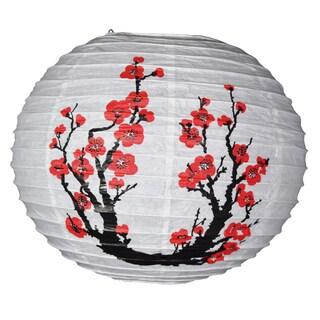 Asian Import Store Distribution 16LAN-JPT 16-inch Plum Tree Paper Lantern