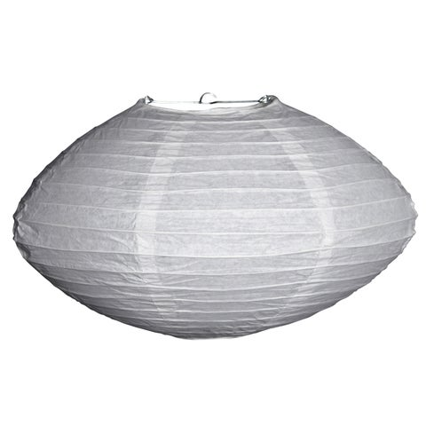Asian Import Store Distribution 16SAT-WH 16-inch White Saturn Paper Lantern