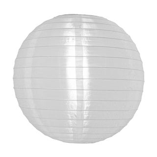 Asian Import Store Distribution 14NYL-WH 14-inch White Nylon Lantern
