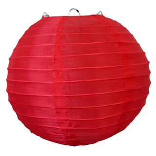 Asian Import Store Distribution 14NYL-RD 14-inch Red Nylon Lantern
