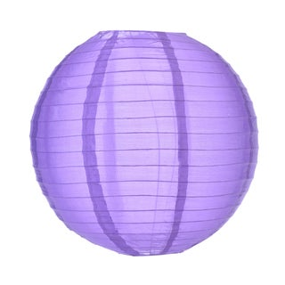Asian Import Store Distribution 14NYL-DPU 14-inch Purple Nylon Lantern