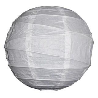 Asian Import Store Distribution 12IRR-WH 12-inch White Irregular Ribbing Paper Lantern