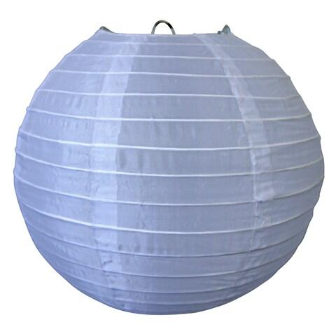 "Asian Import Store Distribution 10NYL-WH 10"" White Nylon Lantern"