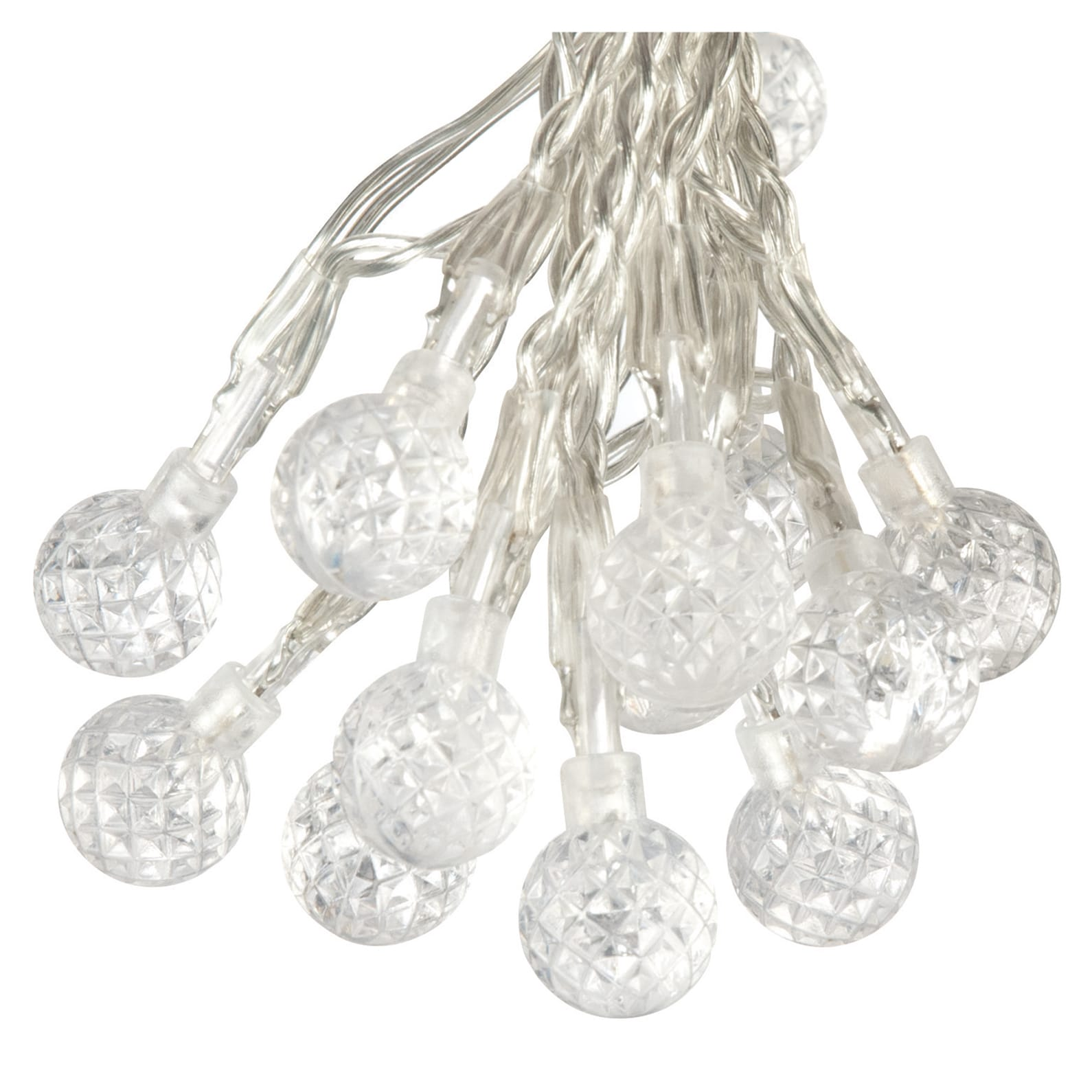 Paradise GL23270WH50 50 LED Strawberry Bubble Outdoor Str...