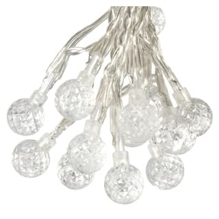 Paradise outdoor lighting for less overstock paradise gl23270wh50 50 led strawberry bubble outdoor string lights aloadofball Choice Image