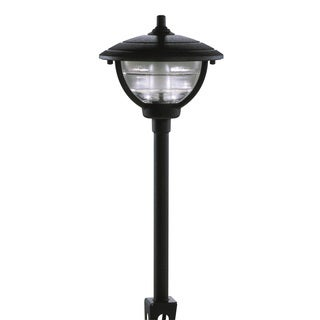 Paradise GL22788BK 12 Volt Black Palm Series Path Light