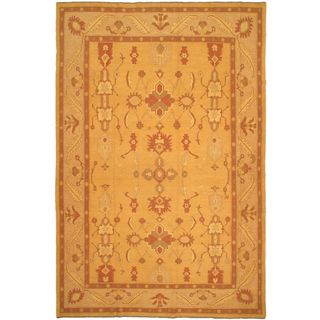 ecarpetgallery Handmade Shiravan Sumak Beige Wool Sumak (10'2 x 15'1)