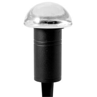 Paradise GL22612BK Black 10 Watt Glass Bollard Path Light