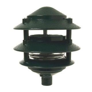 Raco 5884-8 3 Tier Green Incandescent Metallic Garden Light