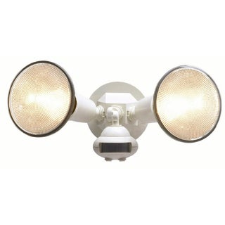 All Pro MS34W White Motion Detector Floodlight