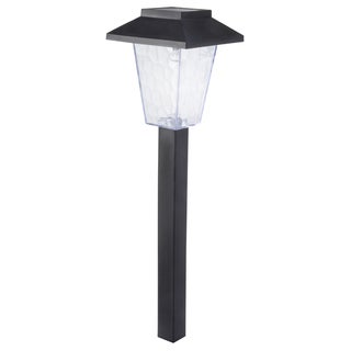 Moonrays 97508 Black Plastic Saxony Path Light