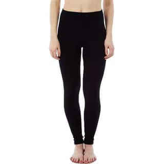 Rochelli Women's Black Polyester Machine Washable Leggings|https://ak1.ostkcdn.com/images/products/11806520/P18714699.jpg?impolicy=medium