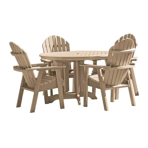 Highwood Eco-friendly Hamilton 5-piece Round Dining Set