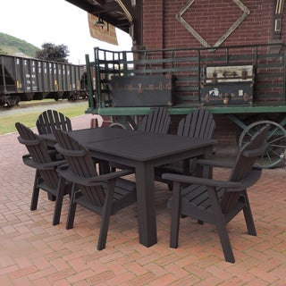 Highwood Eco-friendly Synthetic Wood Hamilton 7-piece Rectangular Dining Set