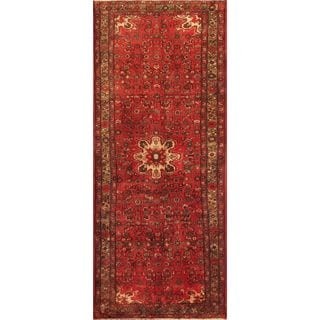 eCarpetGallery Hand knotted Classic Persian Beige/Red Wool Rug (4'0 x 9'11)