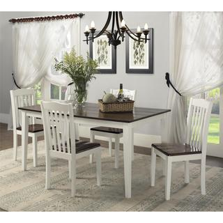 Dorel Living Shiloh 5-Piece Rustic Dining Set