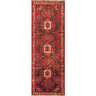 ecarpetgallery Hand-knotted Classic Persian Blue and Red Wool Rug (3'9 x 10'10)