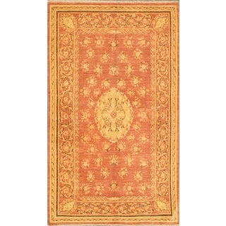 ecarpetgallery Hand-knotted Chobi Finest Pink Wool Rug (5' x 8'2)